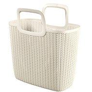 Curver Knit Shopping bag cremig - Einkaufstasche