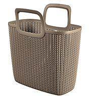 Curver Knit Shopping bag braun - Einkaufstasche