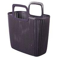 Curver Knit Shopping bag lila - Einkaufstasche