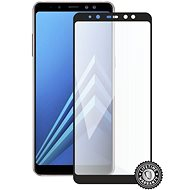 Screenshield SAMSUNG A530 Galaxy A8 (2018) (Full COVER schwarz) - Schutzglas