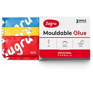 Sugru Mouldable Glue 3 pack - rot, blau, gelb - Spielzeug