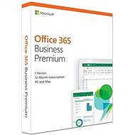 Microsoft Office 365 Business Premium Einzelhandel DE (BOX) - Office-App