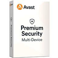 Avast Premium Security Multi-Device (bis zu 10 Geräte) für 12 Monate (elektronische Lizenz) - Antivirus