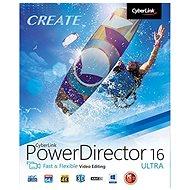 CyberLink PowerDirector 16 Ultra (elektronische Lizenz) - Schneidesoftware