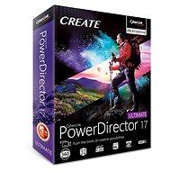 CyberLink PowerDirector 17 Ultimative  (elektronische Lizenz) - Elektronische Lizenz