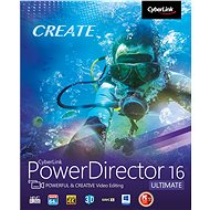 CyberLink PowerDirector 16 Ultimative  (elektronische Lizenz) - Schneidesoftware