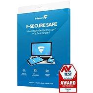 F-Secure SAFE für 3 Geräte, 1 Jahr (elektronische Lizenz) - Antivirus