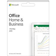 Microsoft Office 2019 Home and Business EN ( elektronická licence ) - Elektronická licence