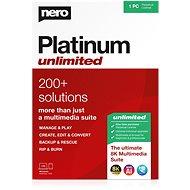 Nero Platinum Unlimited 7in1 CZ (Elektronische Lizenz) - Brenner-software