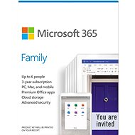 Microsoft 365 Family EN (elektronische Lizenz) - Officesoftware