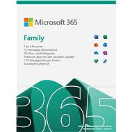 Microsoft Family 365 (elektronische Lizenz) - Officesoftware