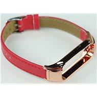 SXT Mi Band 3 Kunstleder-Band rot - Uhrband