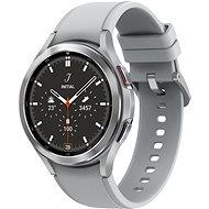 Samsung Galaxy Watch4 Classic 46 mm LTE - silber - Smartwatch