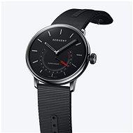 Sequent SuperCharger 2.1 Premium HR Onyx schwarz mit schwarzem Armband - Smartwatch