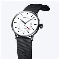 Sequent SuperCharger 2.1 Premium HR schneeweiß mit schwarzem Armband - Smartwatch