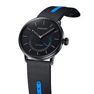 Sequent SuperCharger 2.1 Sport Smoky Metal mit schwarz/blauem Armband - Smartwatch