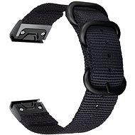 Tactical Nylonarmband für Garmin Fenix 5/6 QuickFit 22mm Black - Armband