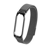 Tactical Loop magnetisches Metallarmband für Xiaomi Mi Band 5/6 Black - Armband