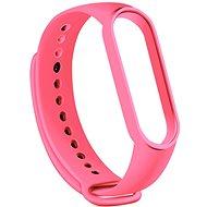 Tactical Silikonarmband für Xiaomi Mi Band 5/6 Pink - Armband