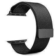 Tactical Loop Magnetic Metallarmband für Apple Watch 1/2/3 42mm Schwarz - Armband