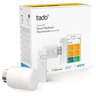 Tado Smart Heizkörperthermostat - Starter Kit V3 + mit horizontalem Einbau - Thermostatkopf