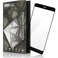 Hartglas Schutzrahmen für Xiaomi RedMi 5 Plus Schwarz - Schutzglas