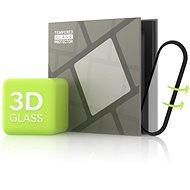 Tempered Glass Protector für Xiaomi Mi Band 5 - 3D GLASS, schwarz - Schutzglas