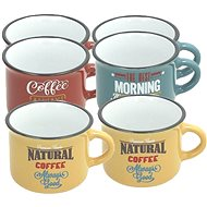 Tognana DES ARTS VINTAGE Kaffeetassen / Kaffeebecher 100 ml 6 Stück - Tasse