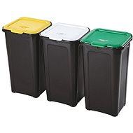 Tontarelli 3x44L, für sortierte Abfälle - Abfalleimer