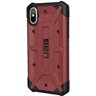 UAG Pathfinder Case Karminrot iPhone XS / X - Silikon-Schutzhülle