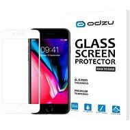 Odzu Glass Screen Protector E2E White iPhone 8/7 - Schutzglas