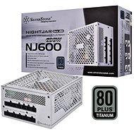SilverStone Nightjar Fanless Titan NJ600 600W - PC-Netzteil