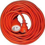 PremiumCord 20 m Verlängerung 230 Volt, orange - Ladekabel