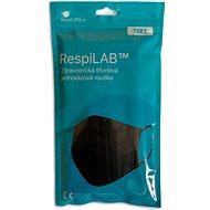 RespiLAB Medizinische Einwegmaske - Schwarz (10 Stück) - Gesichtsmaske