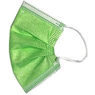 RespiLAB Einwegmasken für Kinder - grün (10 Stück) - Gesichtsmaske