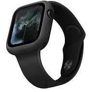 Uniq Lino für Apple Watch 44mm Ash schwarz - Schutzhülle