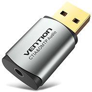 Vention USB External Sound Card Gray Metal Type (OMTP-CTIA) - Externe Soundkarte