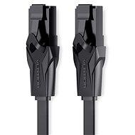 Vention Flat CAT6 UTP Patch Cord Cable 15m schwarz - Netzkabel