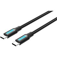 Vention Type-C (USB-C) 2.0 Male to USB-C Male Cable 1M Black PVC Type - Datenkabel