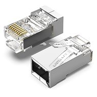 Vention Cat.6 FTP RJ45 Modular Plug Transparent 100 Pack - Konnektor