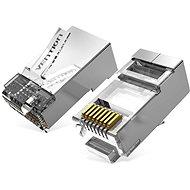 Vention Cat.6A FTP RJ45 Modular Plug Transparent 100er Pack - Konnektor