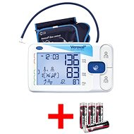 Hartmann Veroval Duo Control digitales Blutdruckmessgerät mit Comfort Air Manschette M 22 - 32 cm - Druckmesser