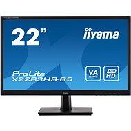 "22"" iiyama ProLite X2283HS-B5 - LCD Monitor"