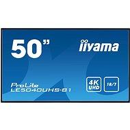 """50"""" iiyama LE5040UHS-B1 - Großformat-Display"""