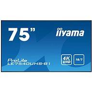 """75"""" iiyama LE7540UHS-B1 - Großformat-Display"""