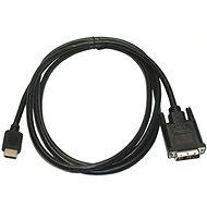 Videokabel Kabel ROLINE DVI-D <-> HDMI-Anschluss, geschirmt, 10 m, Adapterkabel - Videokabel