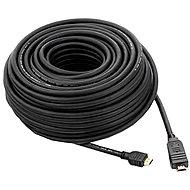 PremiumCord HDMI High Speed mit Ethernet-Verbindung 20m schwarz - Videokabel
