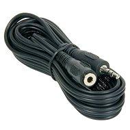 PremiumCord  M 3.5 Klinkenstecker  -> F 3.5 Klinkenstecker, 10m - Audio Kabel