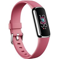 Fitbit Luxe - Orchid/Platinum Stainless Steel - Fitness-Armband