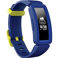 Fitbit Ace 2 Night Sky / Neon Yellow Clasp - Fitness-Armband